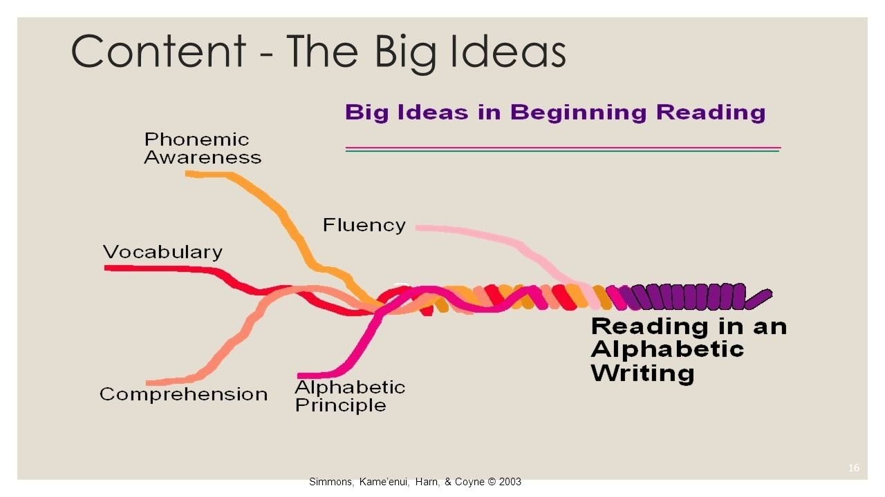 10 Stylish Big Ideas In Beginning Reading k 6 reading coaches cadre march 9 2015 jadie beam and julie downing 2021