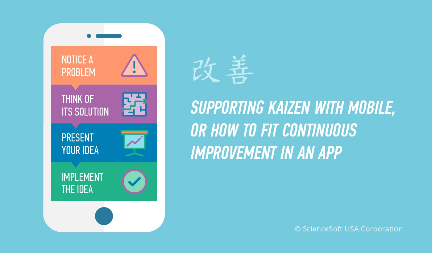 10 Beautiful How To Present An Idea kaizen methodology in a mobile app 2020