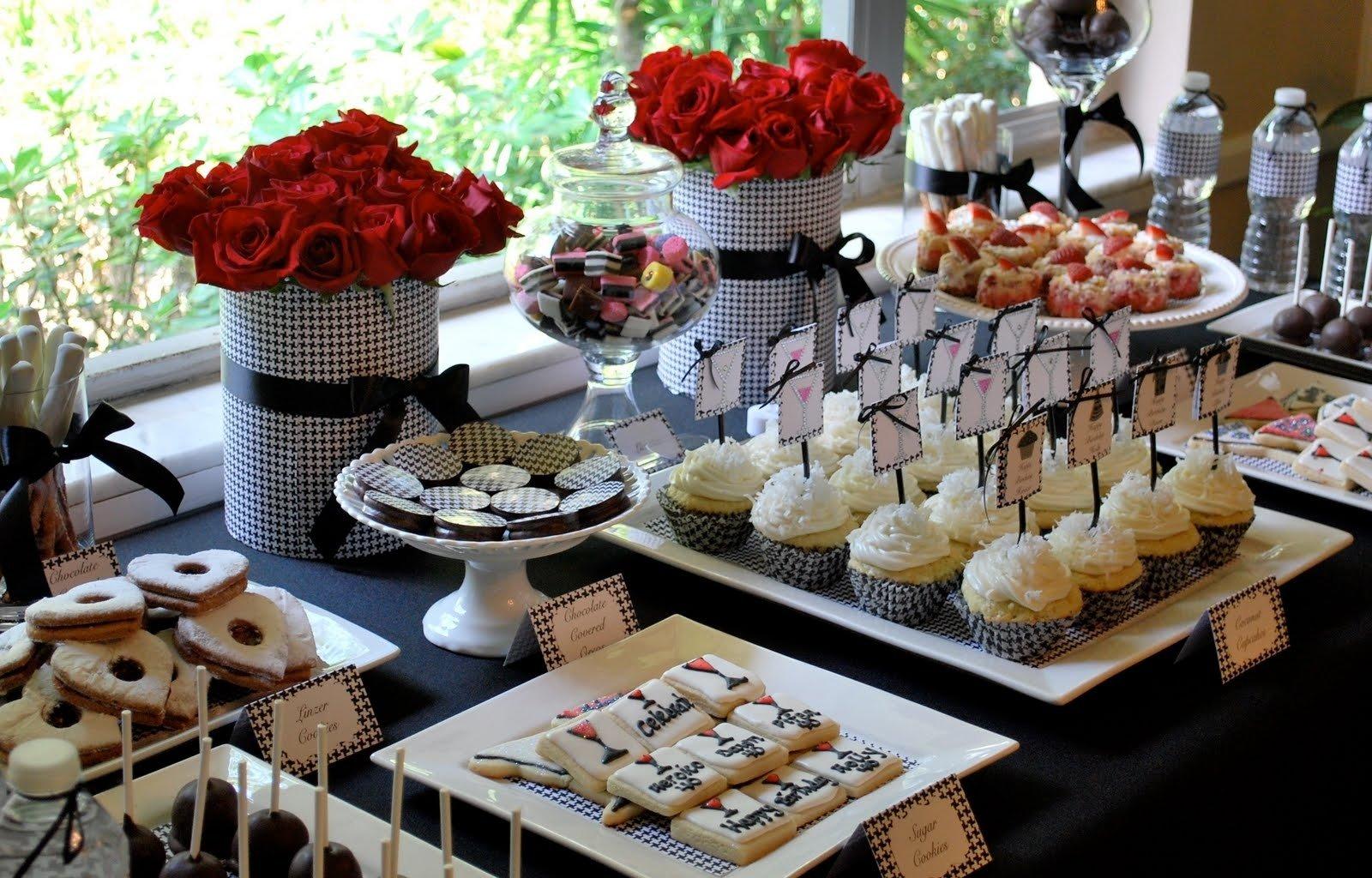 kara's party ideas 40th birthday party | kara's party ideas
