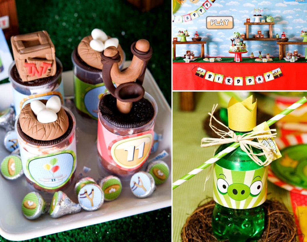 10 Fabulous Angry Birds Birthday Party Ideas karas party ideas angry birds boy video game birthday party 2020