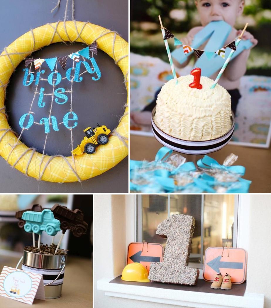 10 Stunning 1St Birthday Ideas For Boys karas party ideas construction truck themed 1st birthday party 2021