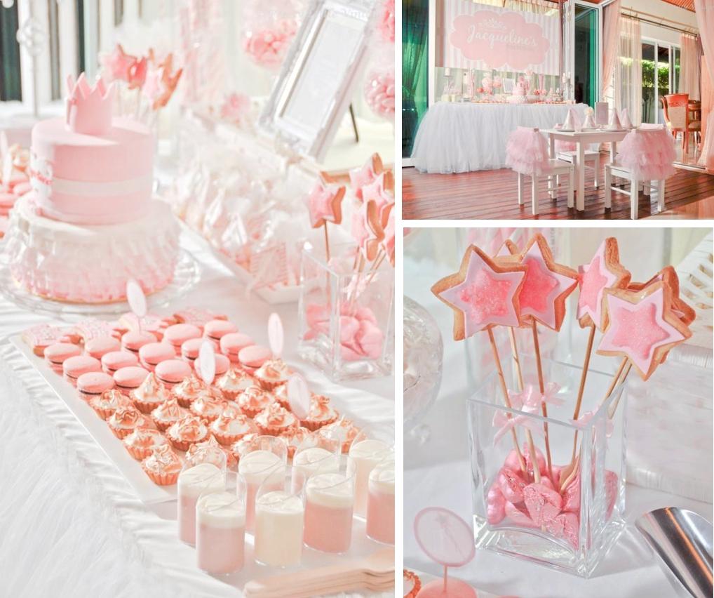 10 Attractive 1St Birthday Princess Party Ideas Karas Daddys Little Girl Ballet 1st