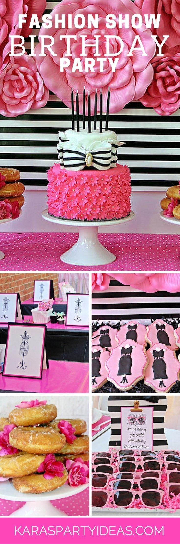 10 Unique Fashion Show Birthday Party Ideas karas party ideas fashion show birthday party karas party ideas