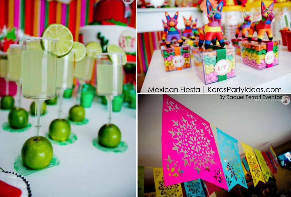 kara's party ideas mexican fiesta themed family adult birthday party