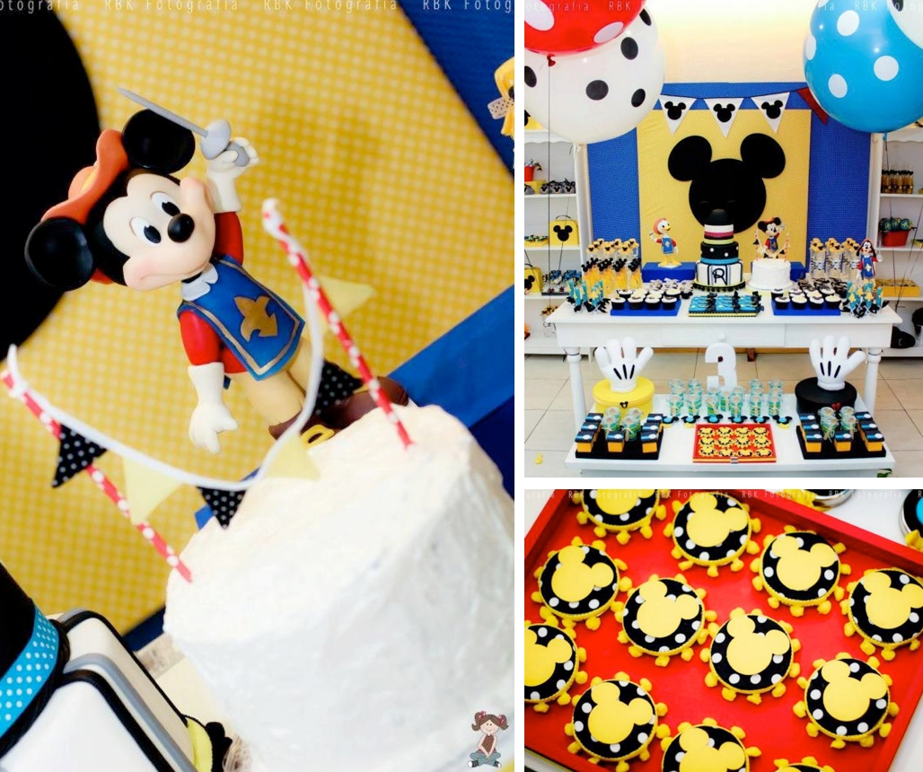 10 Spectacular Boy 3Rd Birthday Party Ideas Karas Mickey Mouse Mouseketeer Musketeer