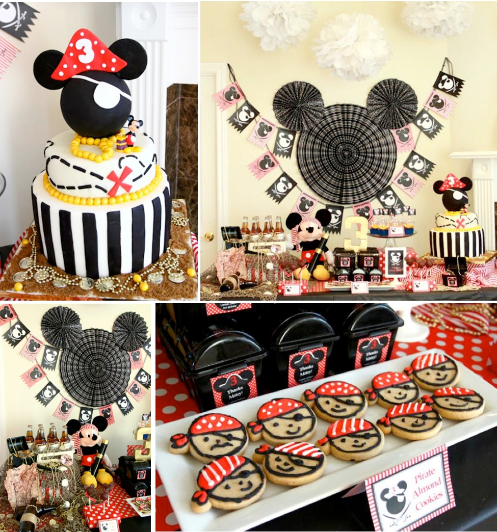 kara's party ideas mickey mouse pirate boy disney themed birthday