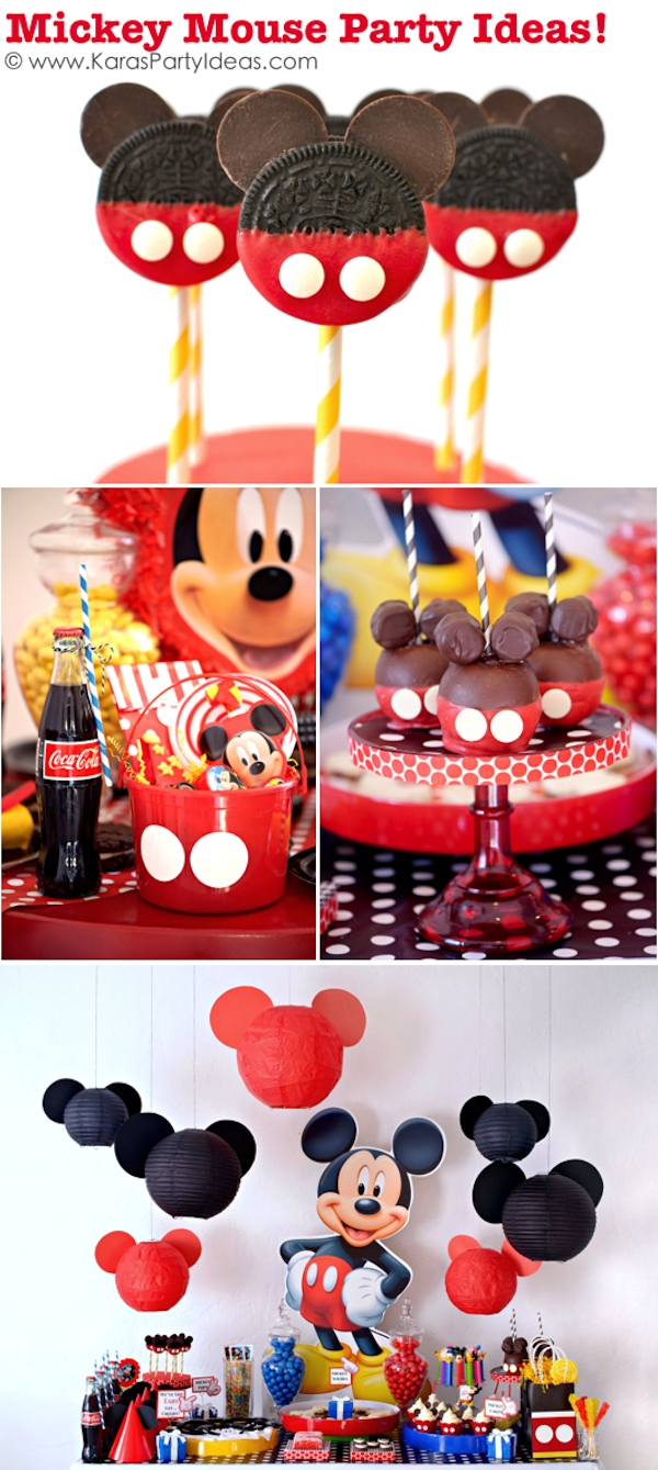 10 Awesome Mickey Mouse Birthday Party Ideas karas party ideas mickey mouse themed birthday party planning ideas 1