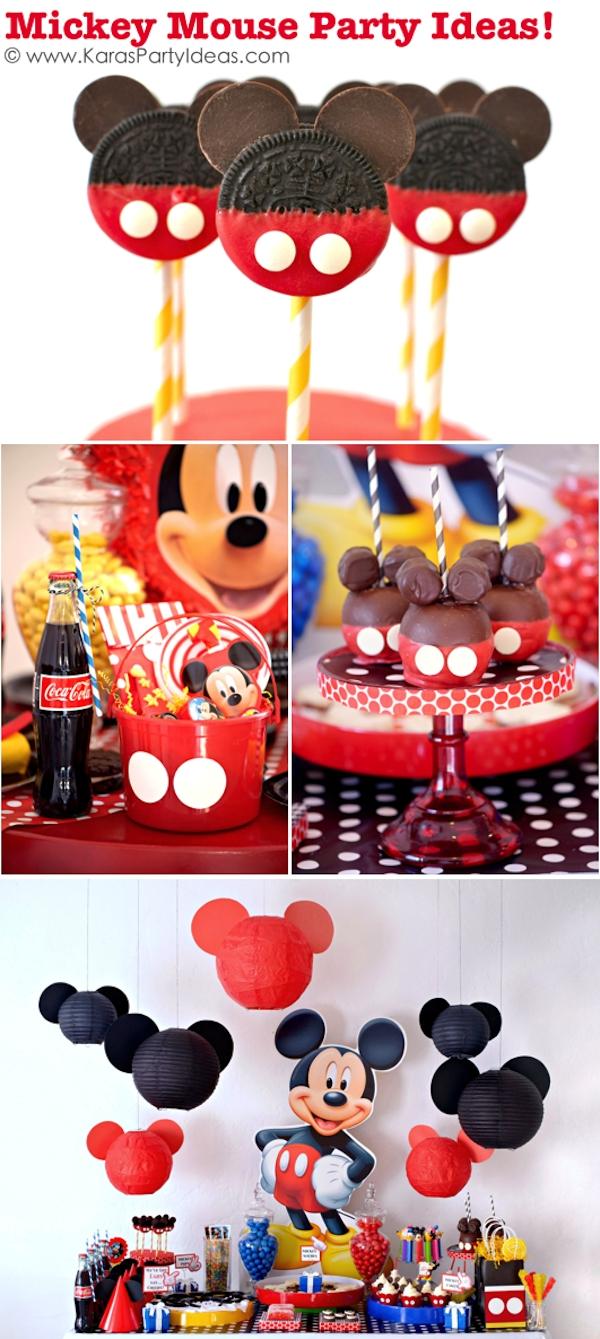 10 Trendy Mickey Mouse Theme Party Ideas karas party ideas mickey mouse themed birthday party planning ideas