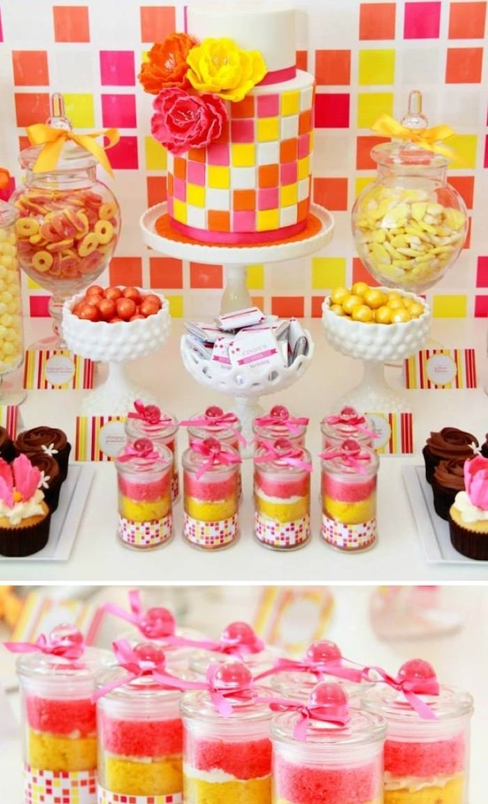 karas party ideas modern neon dessert table party ideas sweets table
