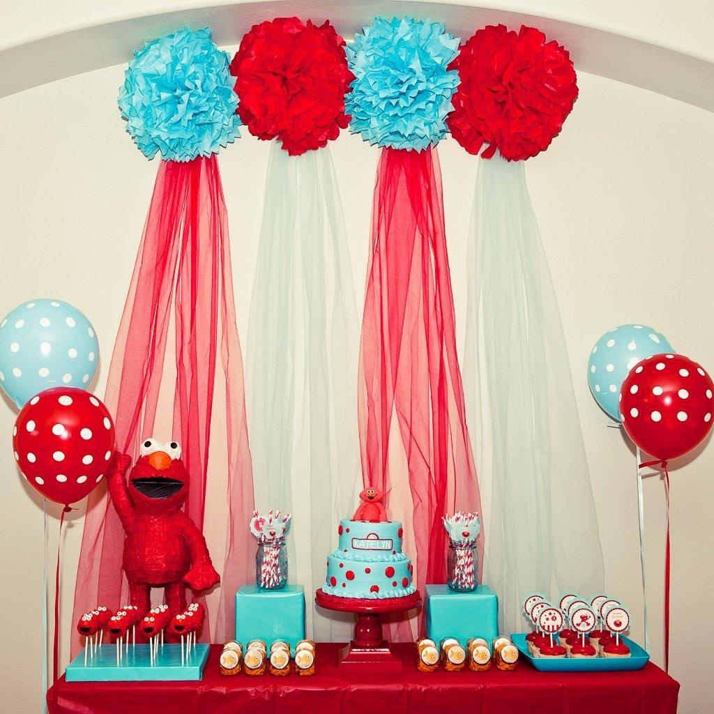 10 Amazing Elmo Themed Birthday Party Ideas karas party ideas red and turquoise elmo party sesame street 2020
