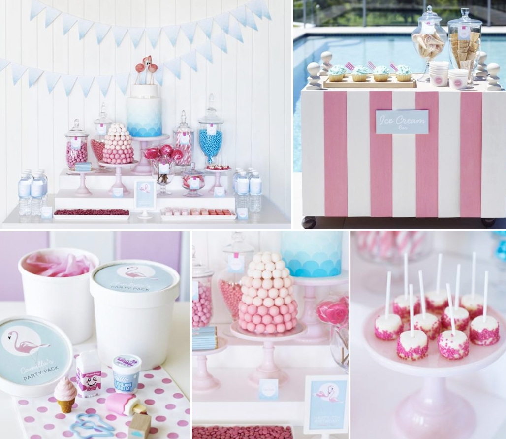10 Fabulous Pink Party Ideas For Adults karas party ideas retro pink flamingo girl birthday summer pool 2021