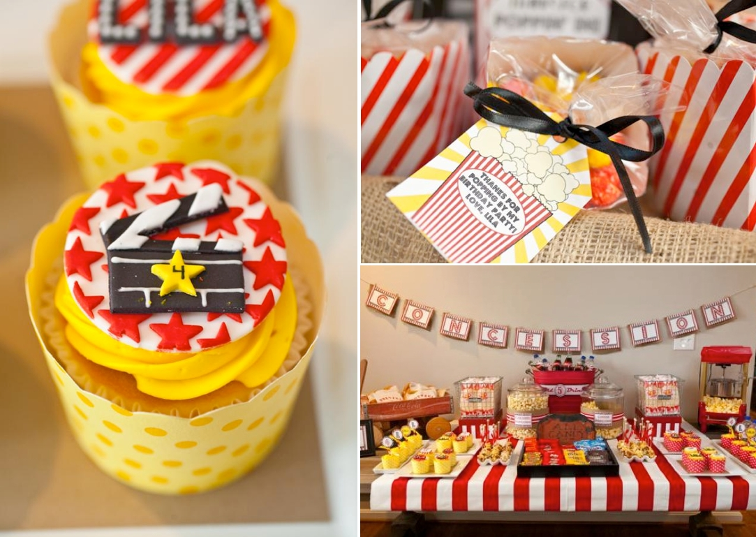 10 Fabulous Themed Birthday Party Ideas For Adults karas party ideas vintage movie boy girl family adult birthday 1
