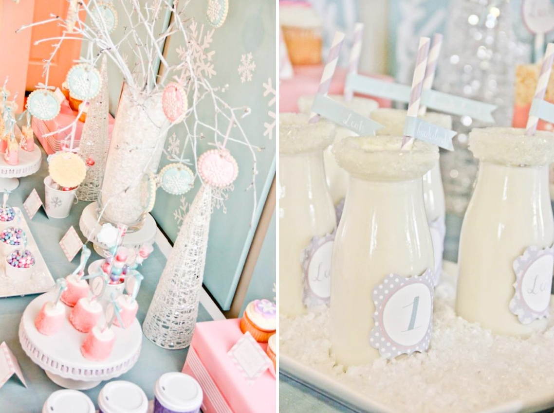 10 Gorgeous Winter Birthday Party Ideas For Adults karas party ideas winter wonderland girl snow 1st birthday party 3 2021