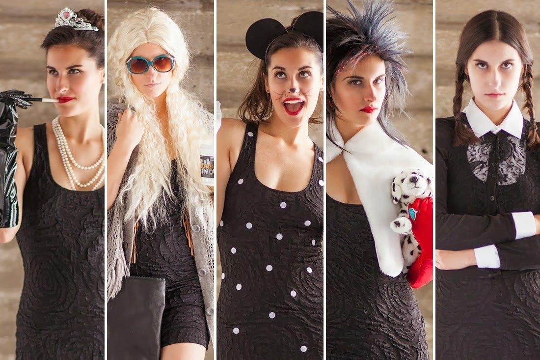 10 Attractive Little Black Dress Costume Ideas kate levi october 2013 2020