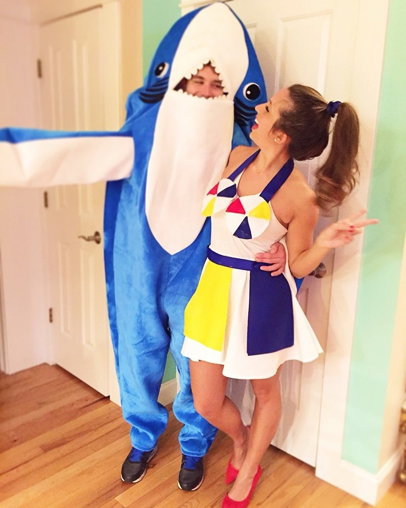 10 Beautiful Katy Perry Halloween Costume Ideas katy perry and left shark diy halloween costume tilleys threads