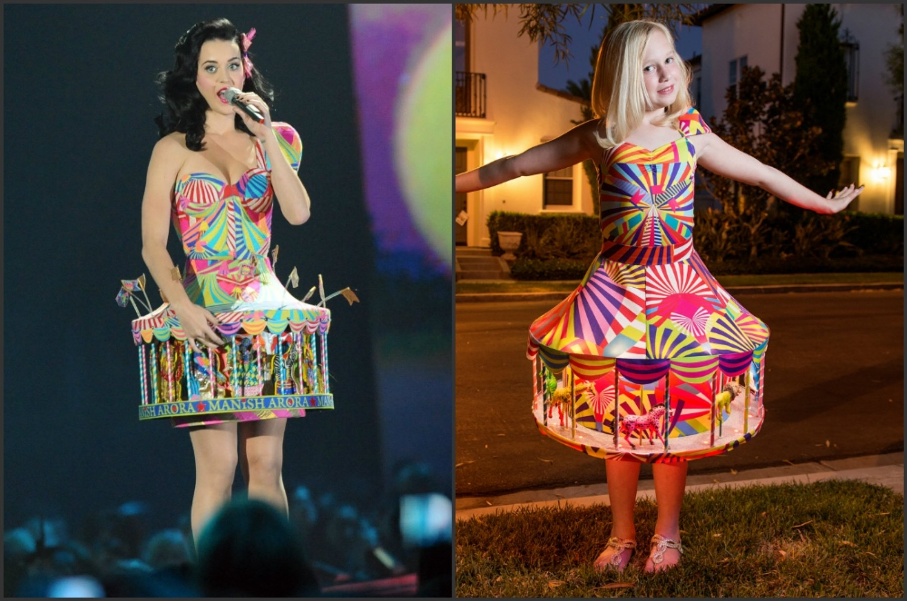 10 Beautiful Katy Perry Halloween Costume Ideas katy perry wowedirvine dads elaborate halloween costume for