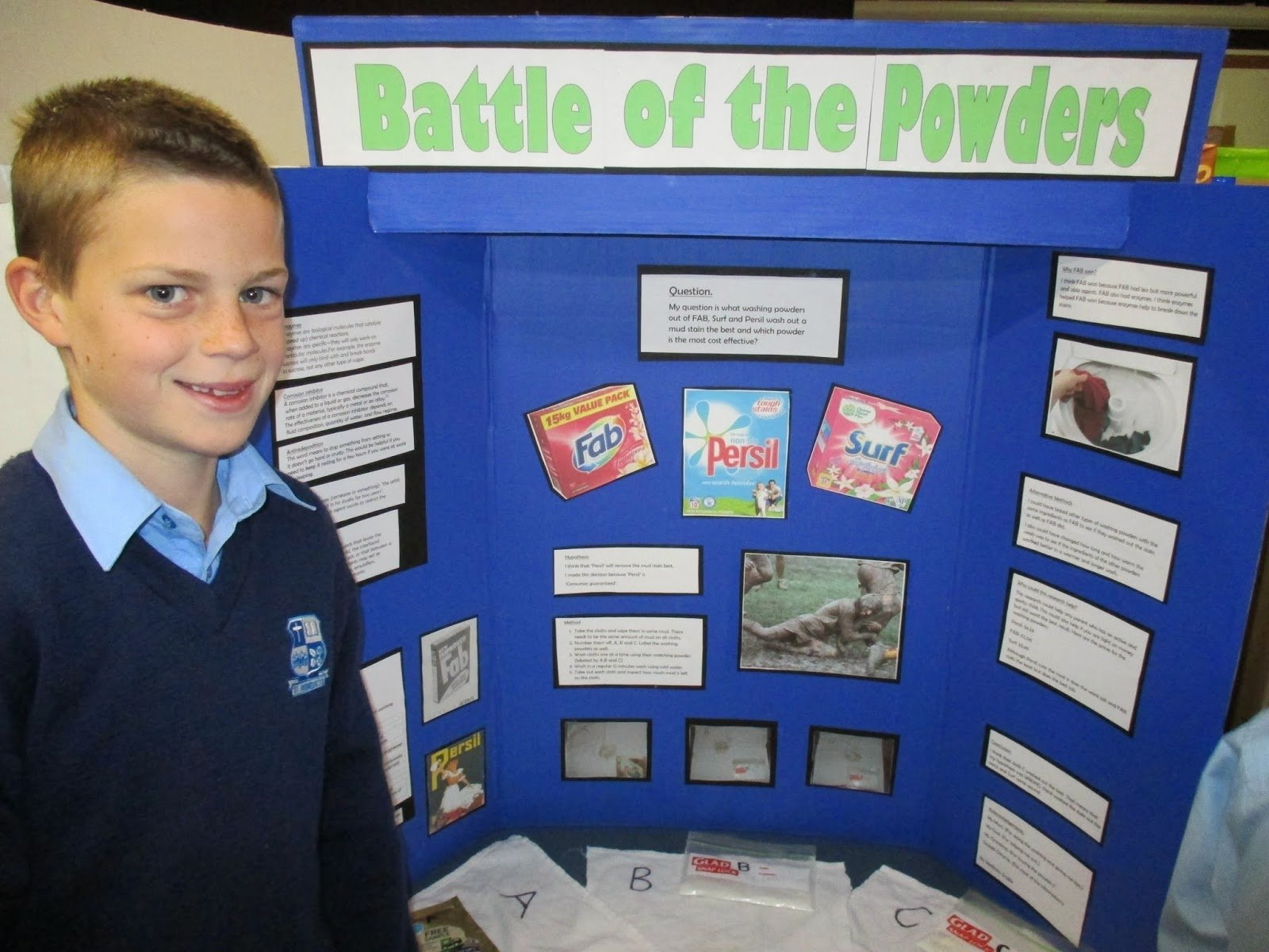 kauri blog: last minute science fair info