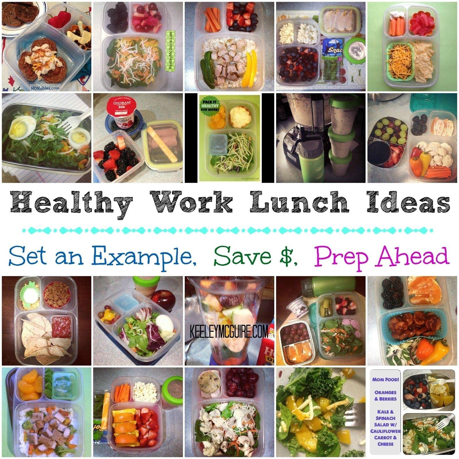 10 Elegant Easy Healthy Lunch Ideas For Work keeley mcguire lunch made easy healthy work lunches for mom or 1 2020