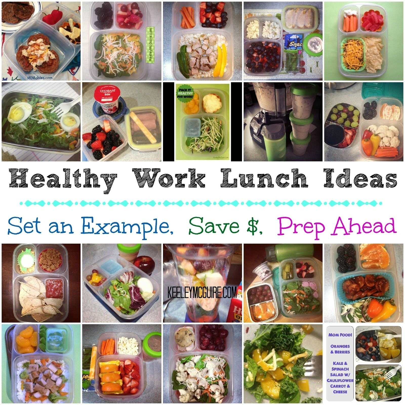 10 Best Easy Healthy Lunch Ideas Work keeley mcguire lunch made easy healthy work lunches for mom or 2020