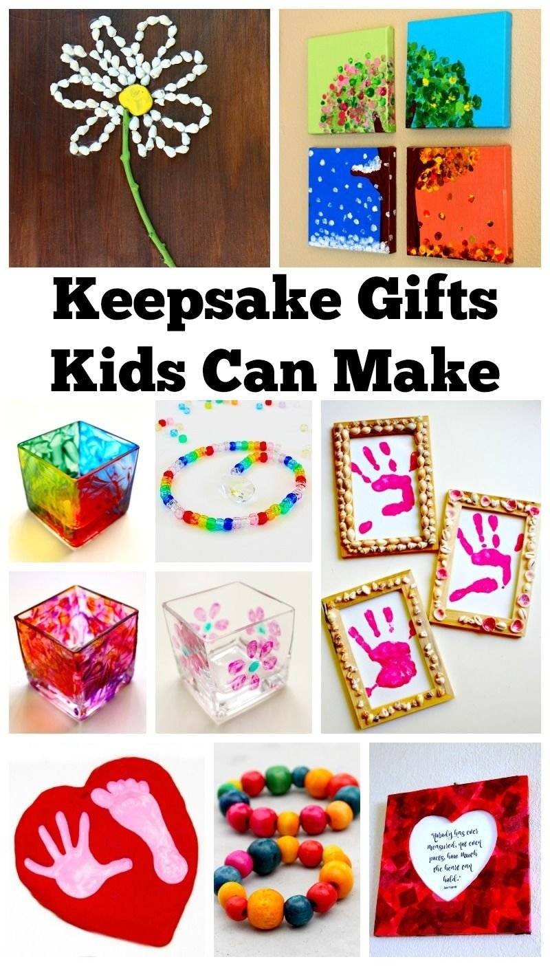 10 Fashionable Ideas For Christmas Gifts For Kids keepsake gifts kids can make keepsakes and tutorials 2020
