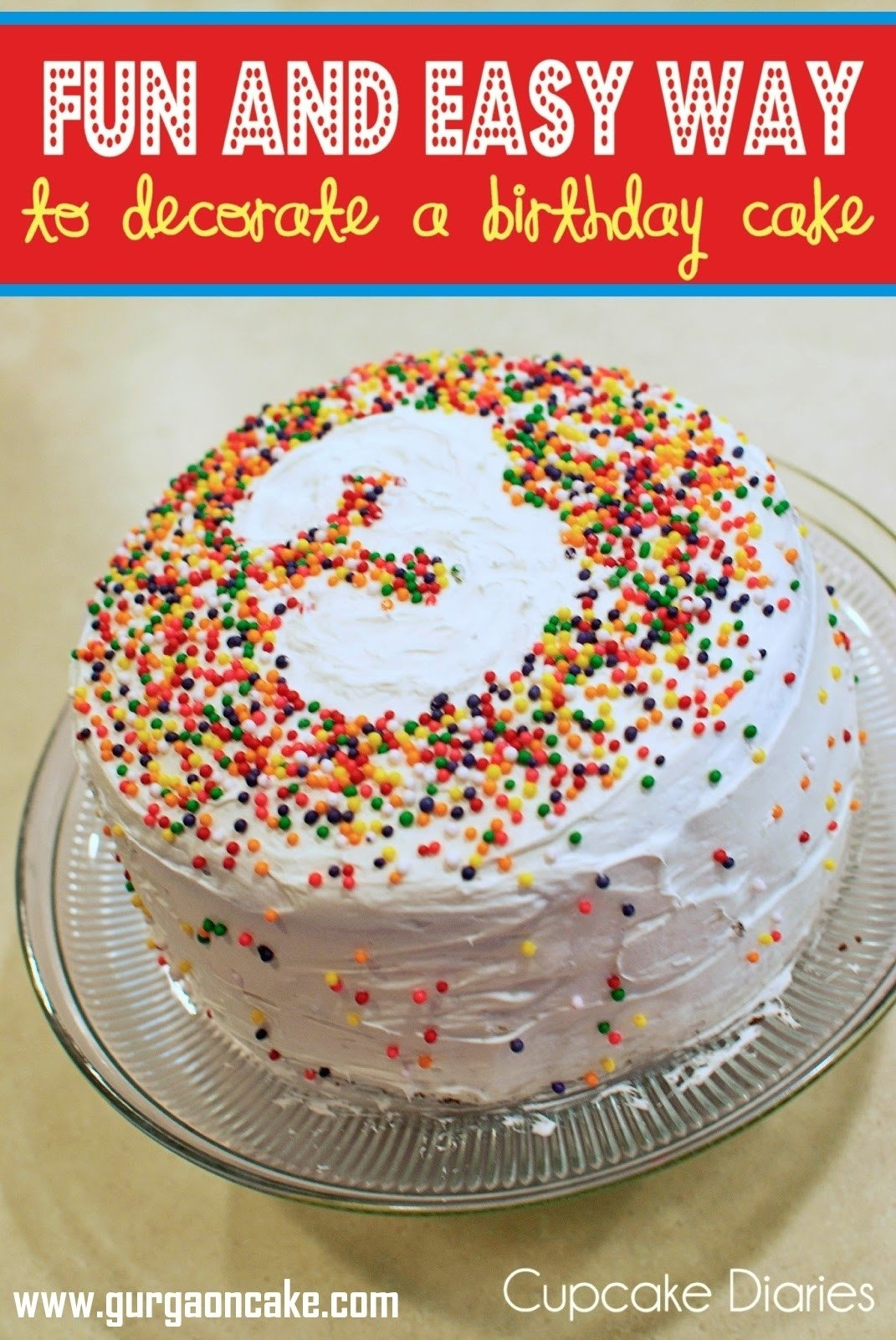 10 Most Recommended Easy Cake Decorating Ideas For Kids kid birthday cake cool easy childrens cake decorating ideas 2021