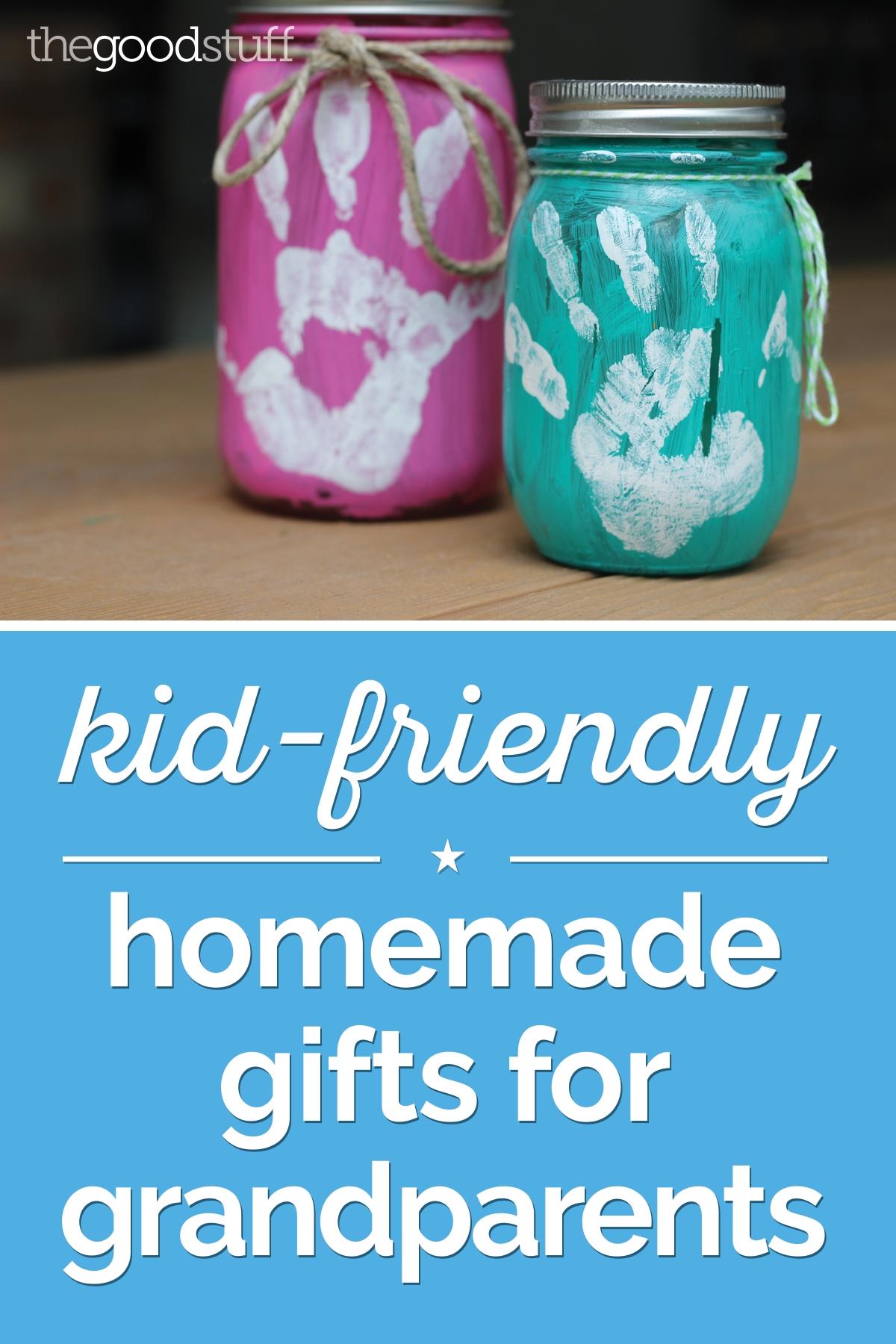 10 Trendy Homemade Gift Ideas For Grandparents kid friendly homemade gifts for grandparents grandparents