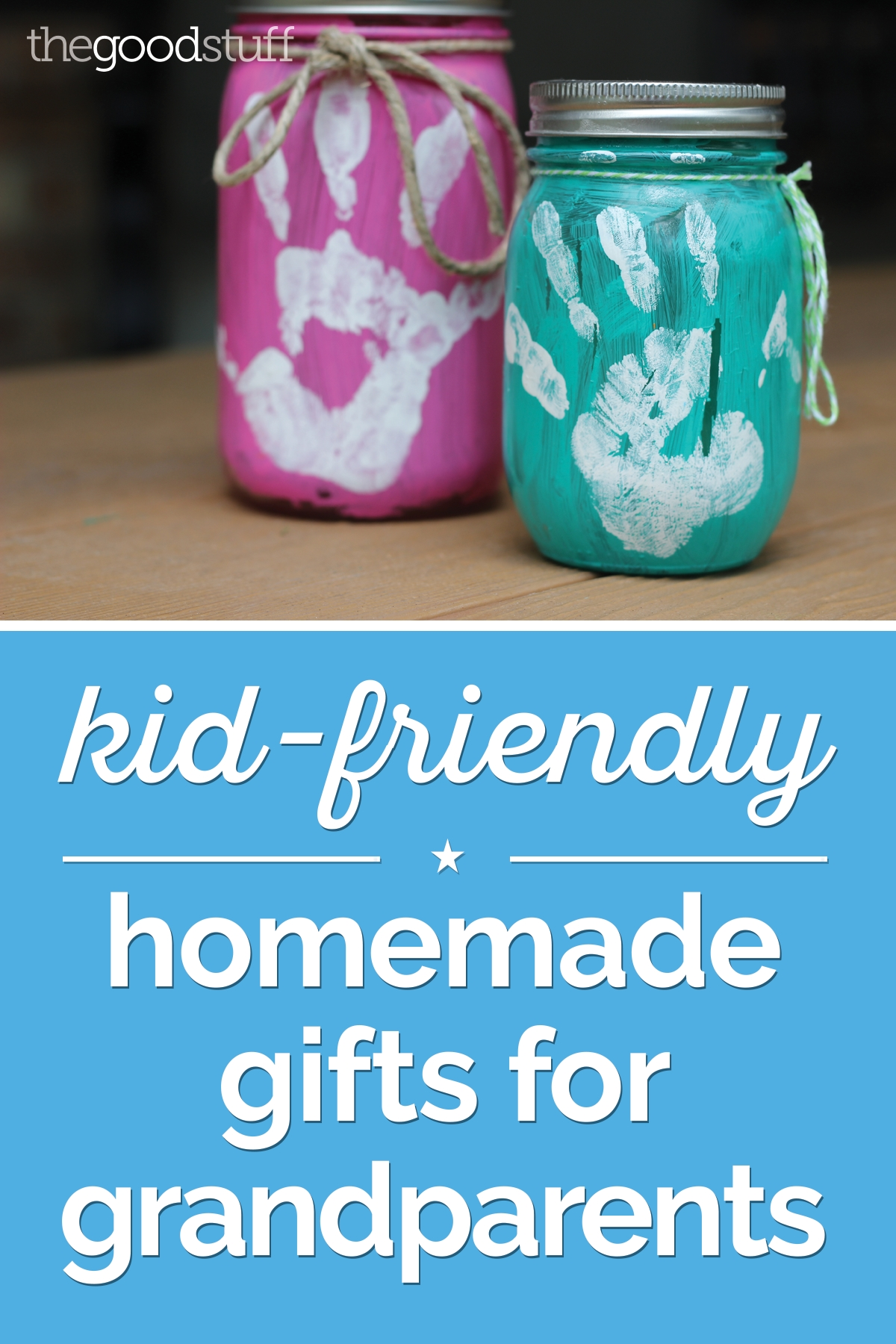 10 Fantastic Gift Ideas For New Grandparents kid friendly homemade gifts for grandparents thegoodstuff 2