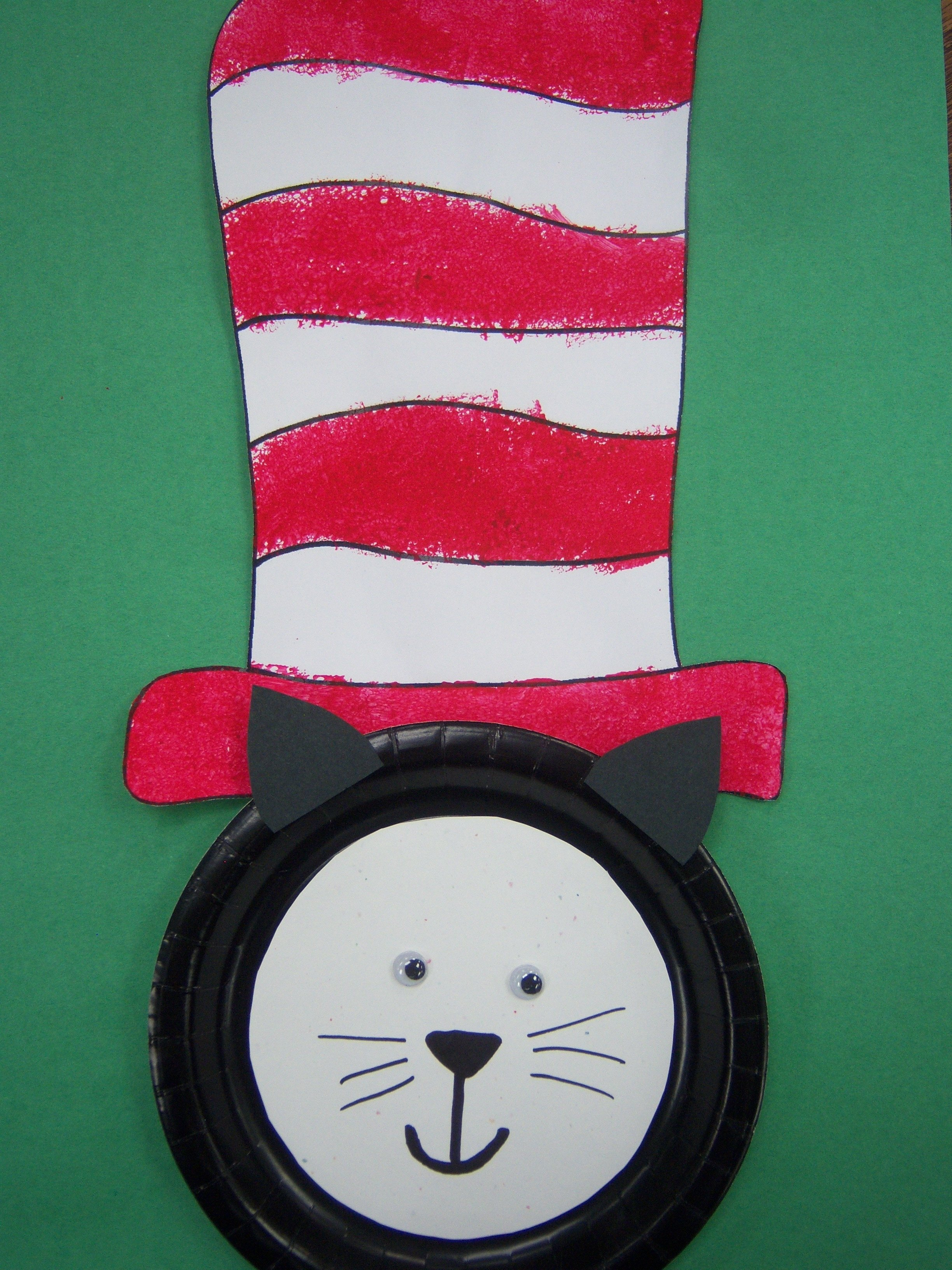 10 Most Popular Cat In The Hat Craft Ideas kids art dr seuss storytime katie