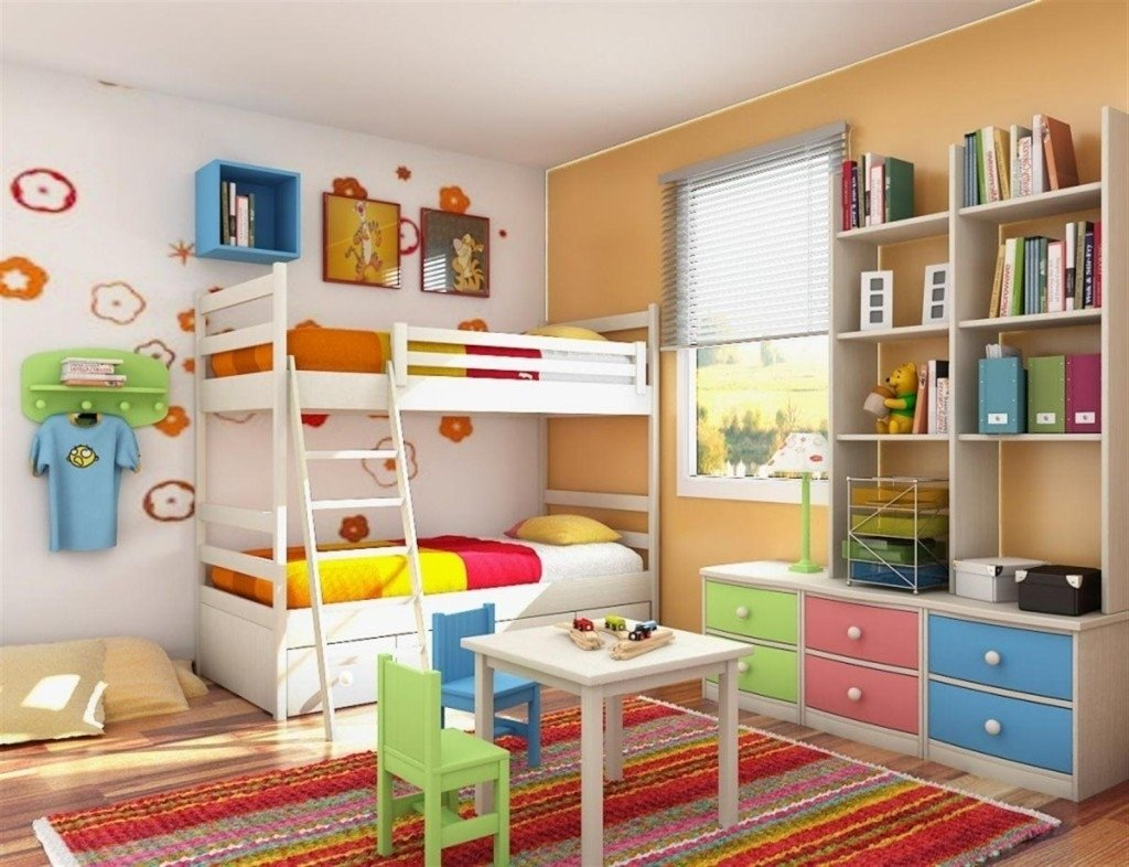 10 Unique Kids Bedroom Ideas For Small Rooms kids bedroom ideas for small rooms colorful womenmisbehavin 2020
