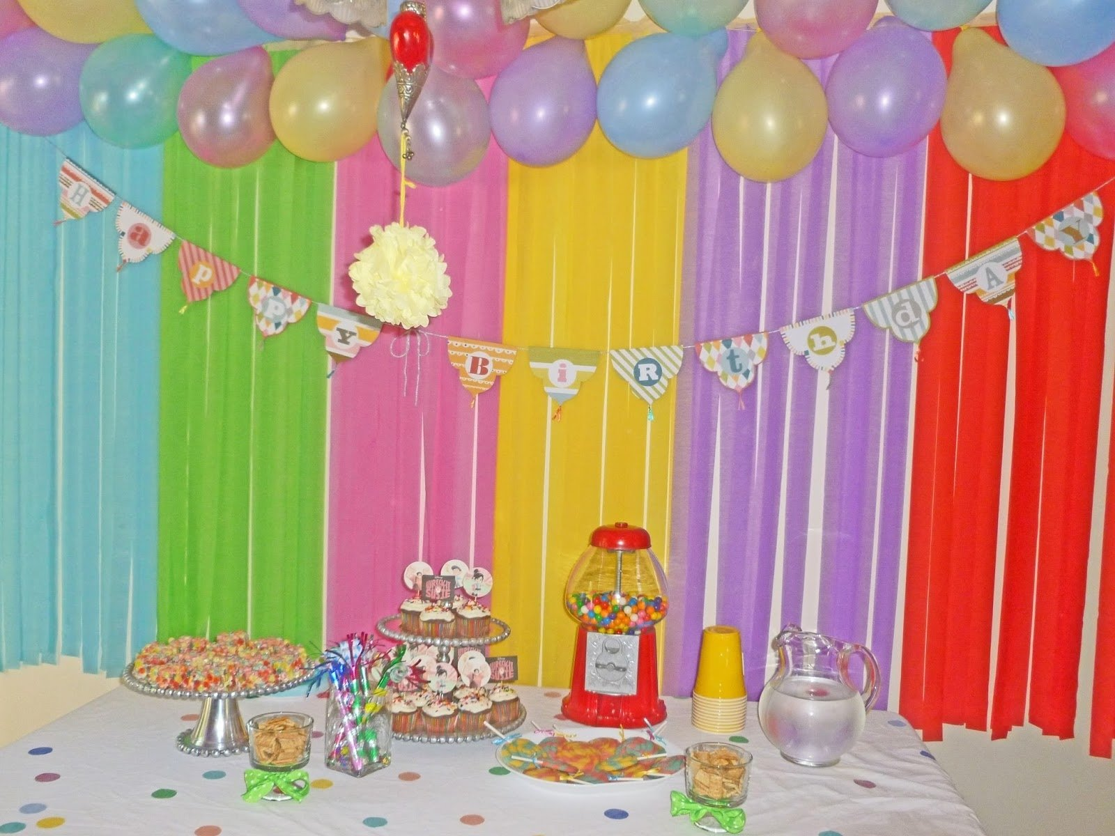 10 cute kids birthday party ideas at home