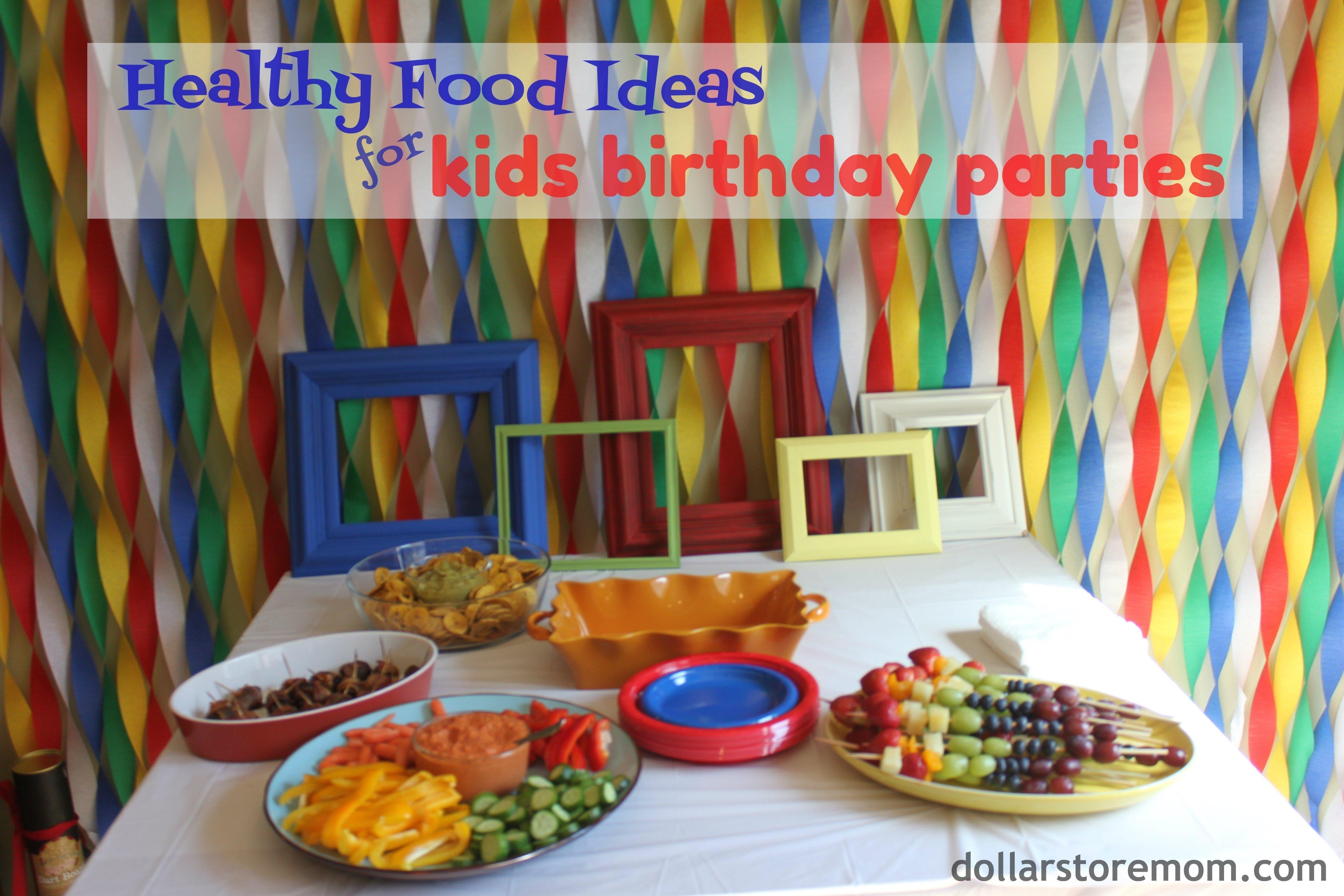 10 Most Popular Finger Food Ideas For Kids Birthday Party kids birthday party food ideas dollar store mom 2021