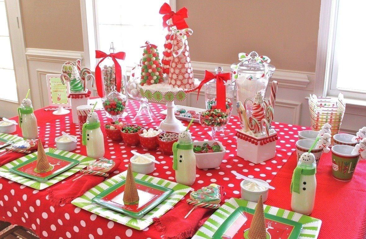 10 Ideal Ideas For Office Christmas Parties kids candy coated christmas party christmas tree christmas decor 1 2020
