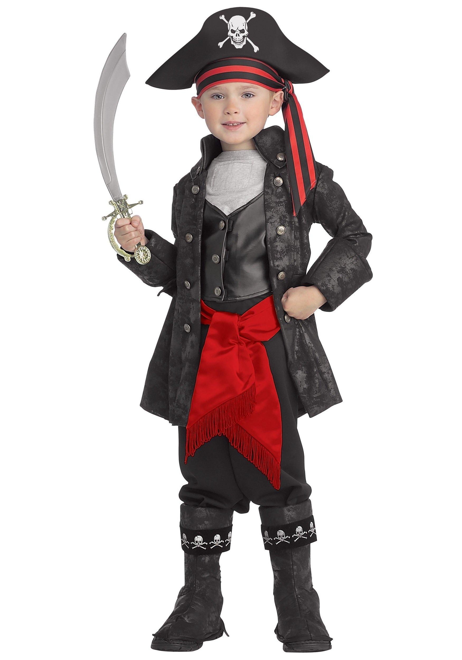 10 Great Pirate Costume Ideas For Kids kids captain black pirate costume 2020