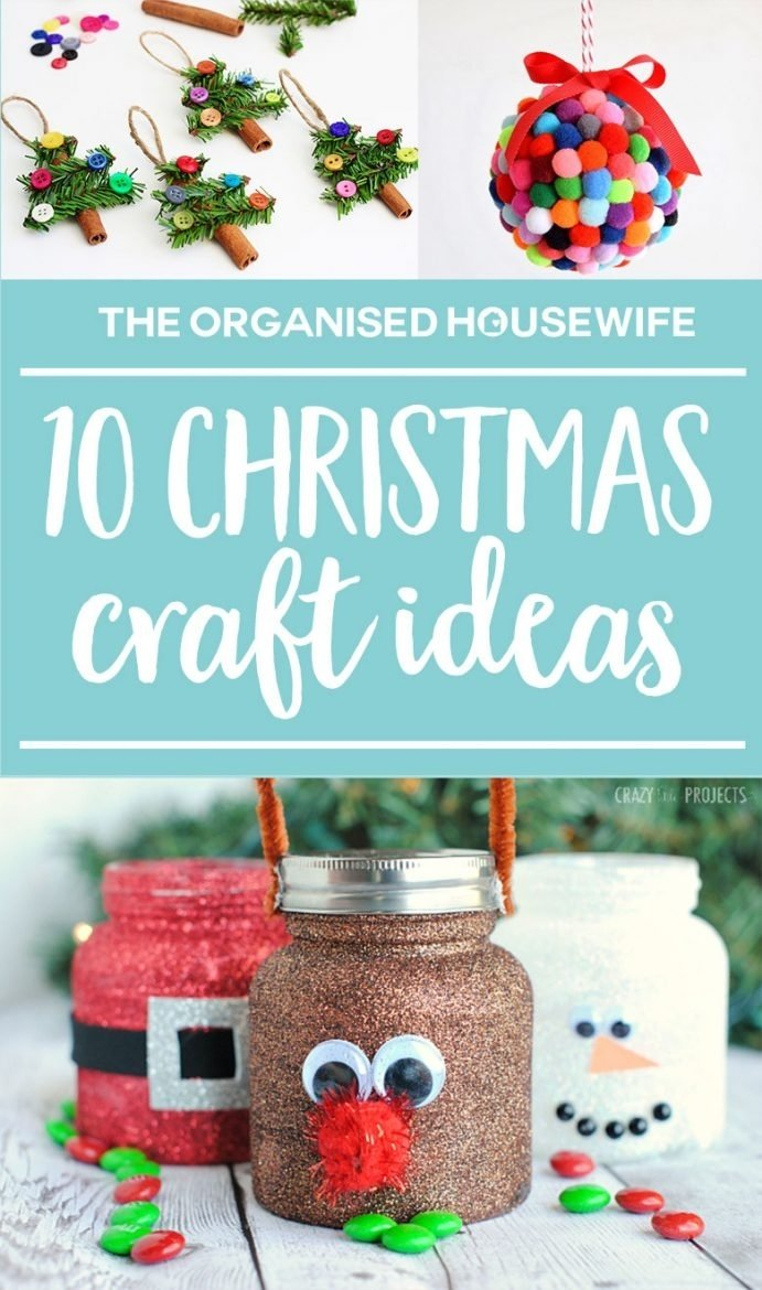 10 Attractive Christmas Pictures Ideas For Kids kids christmas craft ideas the organised housewife 1 2020