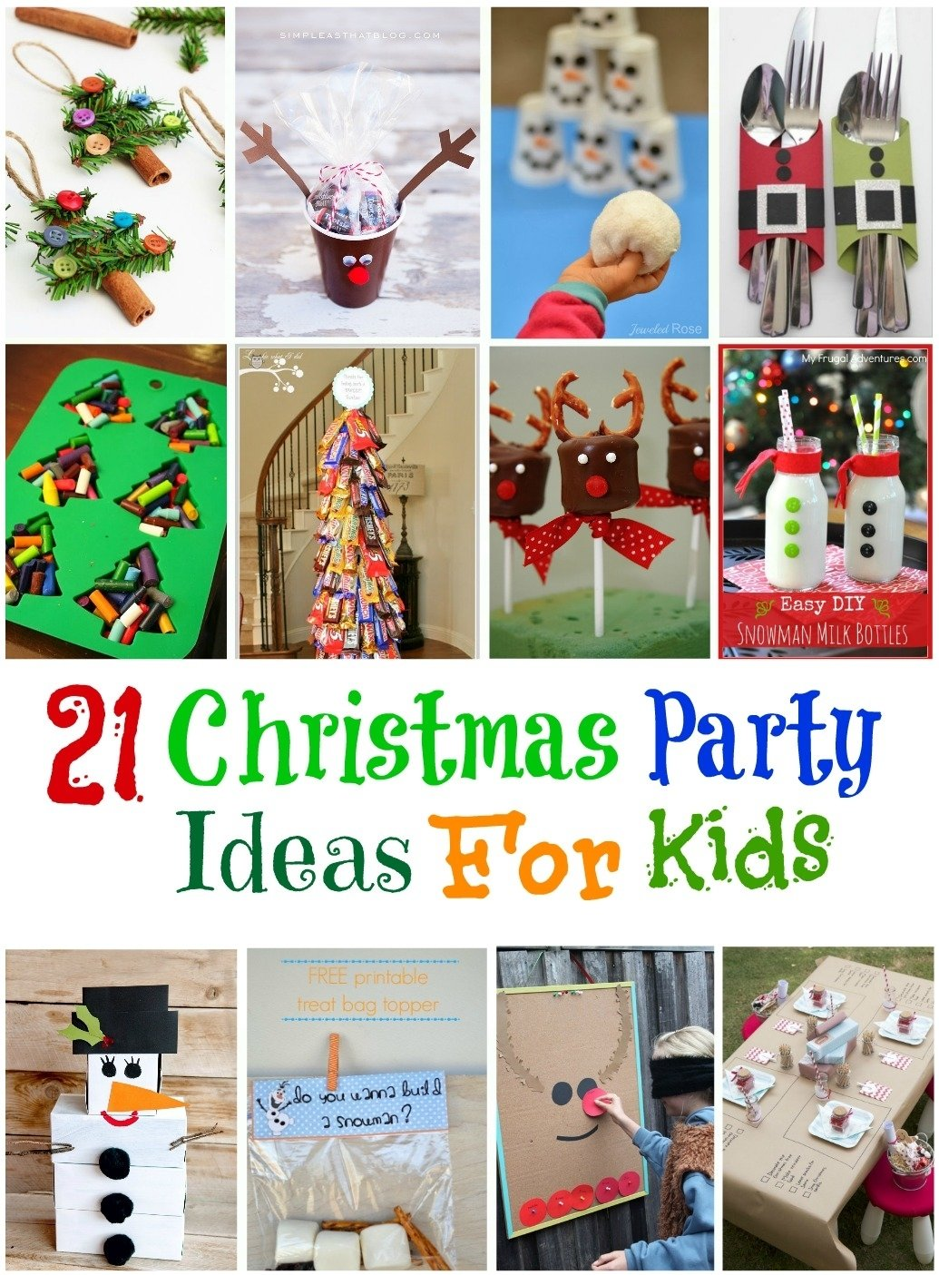 10 Cute Holiday Party Ideas For Kids kids christmas party idea positivemind 2020