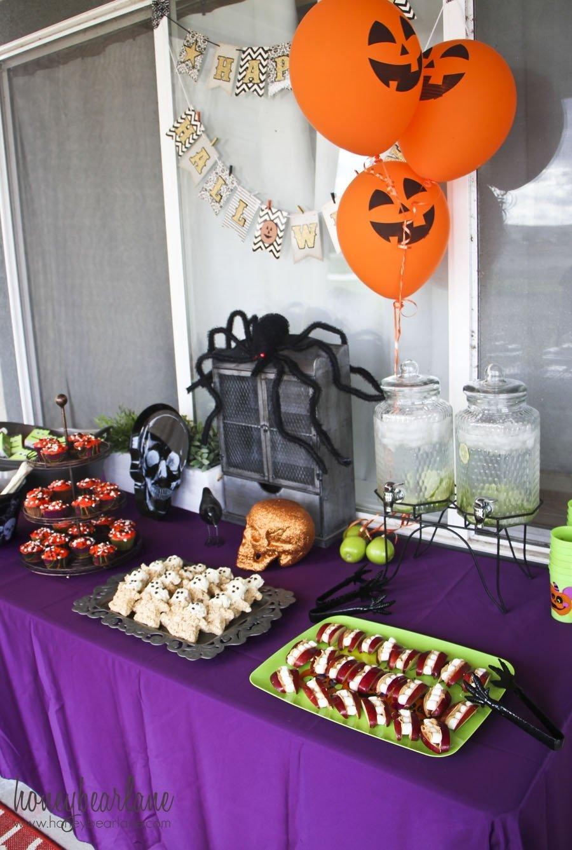 kids halloween party ideas - honeybear lane