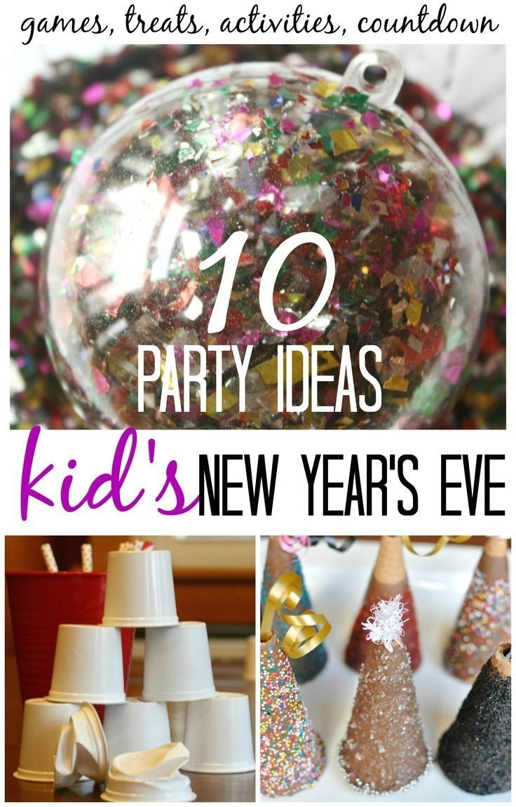 10 Fantastic Fun New Years Eve Ideas kids new years eve party ideas and activities for new years 20 2020