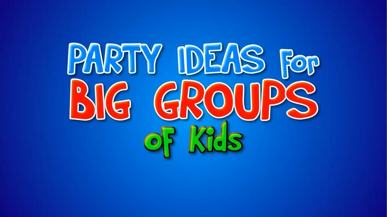 10 Stylish Christmas Party Ideas For Large Groups kids party games ideas for large groups youtube 2021