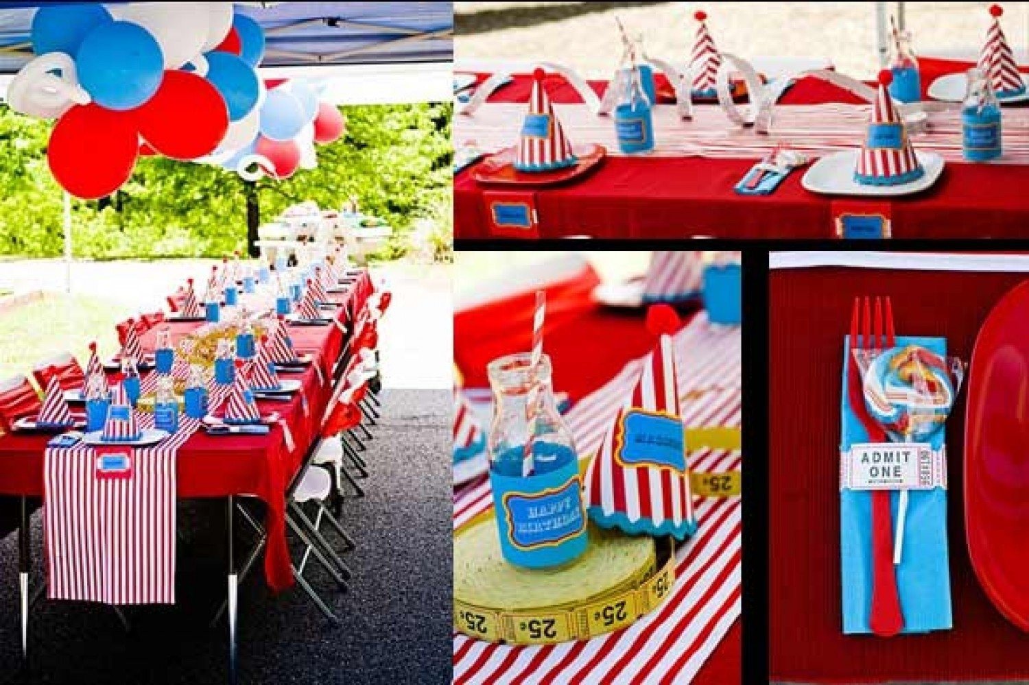 10 Unique Carnival Party Ideas For Kids kids party ideas carnival themedpartyworks