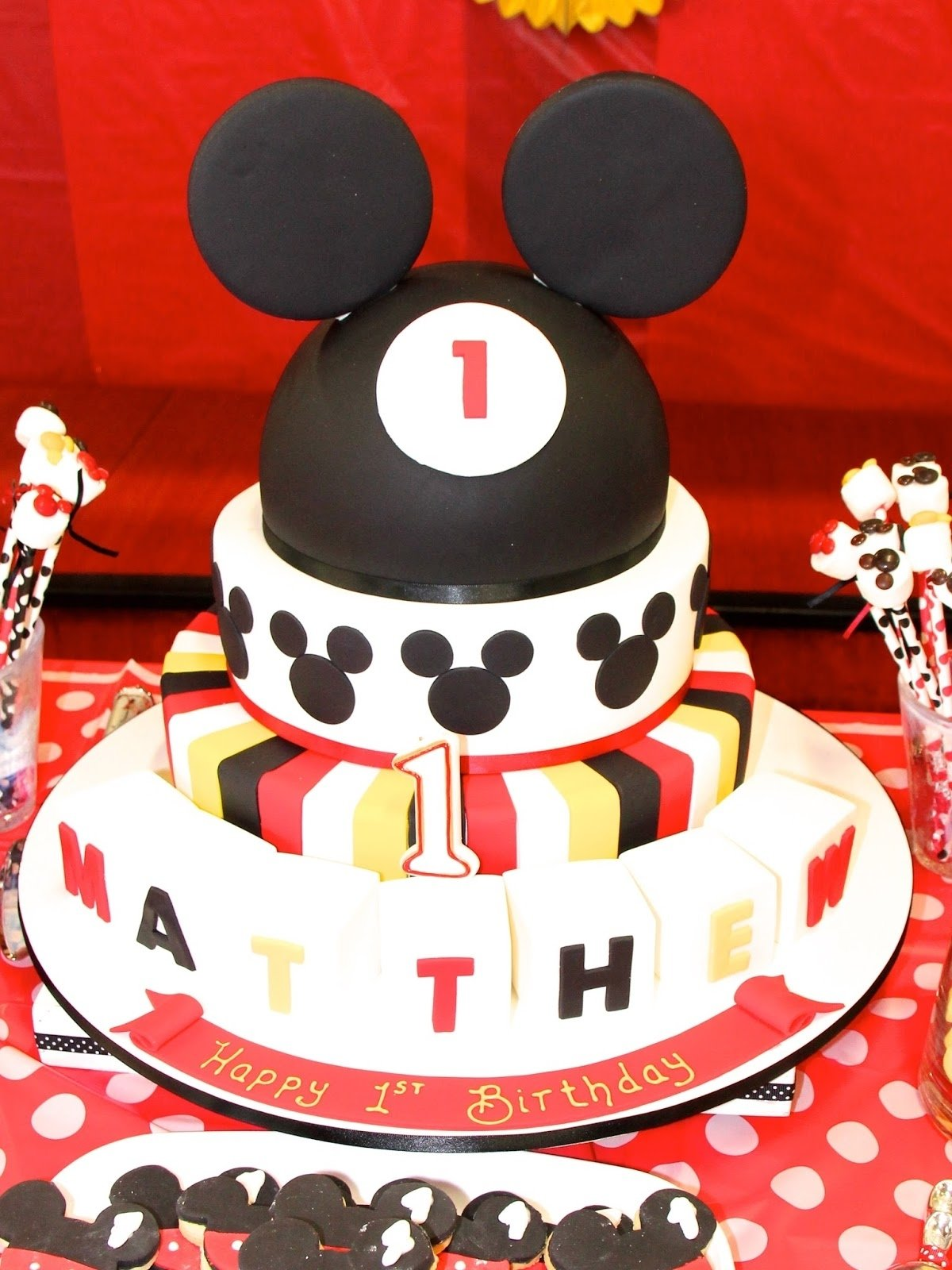 10 Fantastic Mickey Mouse Themed Birthday Party Ideas kids party ideas mickey mouse themed first birthday basil and chaise 2020