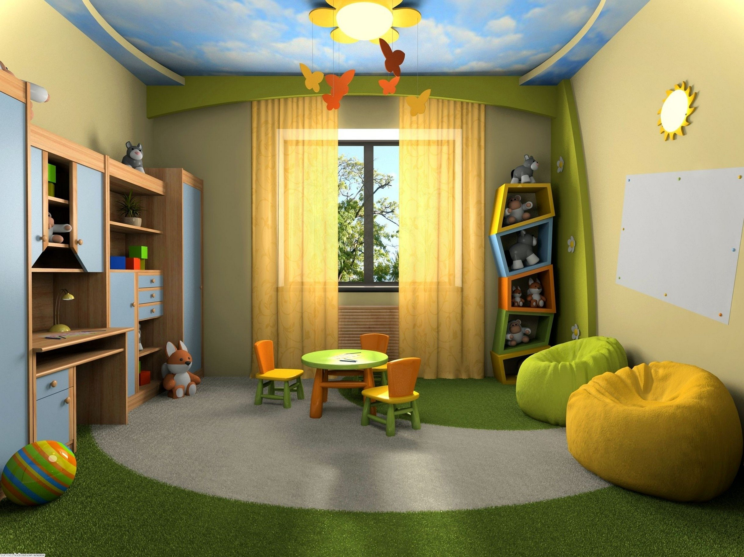 10 Nice Playroom Ideas For Small Spaces kids playroom ideas for small spaces 2020