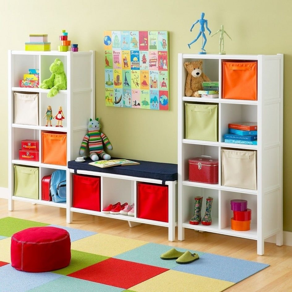 10 Gorgeous Storage Ideas For Kids Room kids room colourful cube storage ideas room popular paint colors 2020