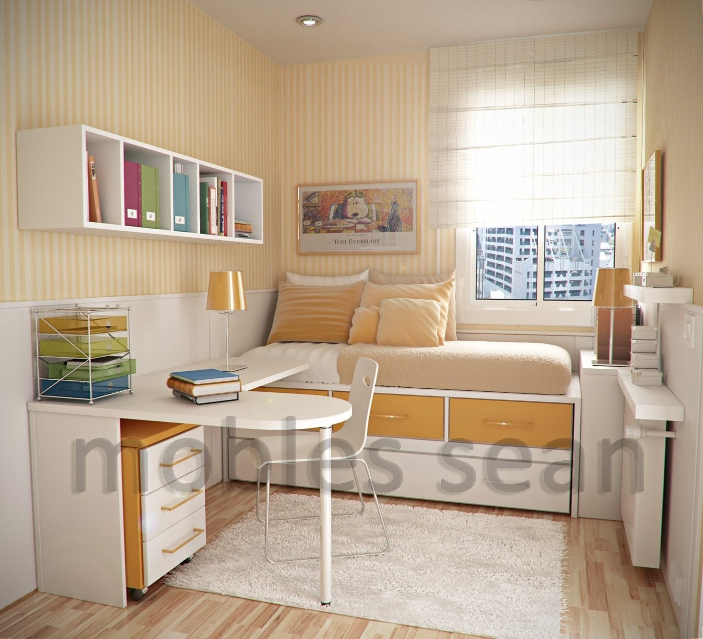 kids room designs for small spaces excellent image of orange white
