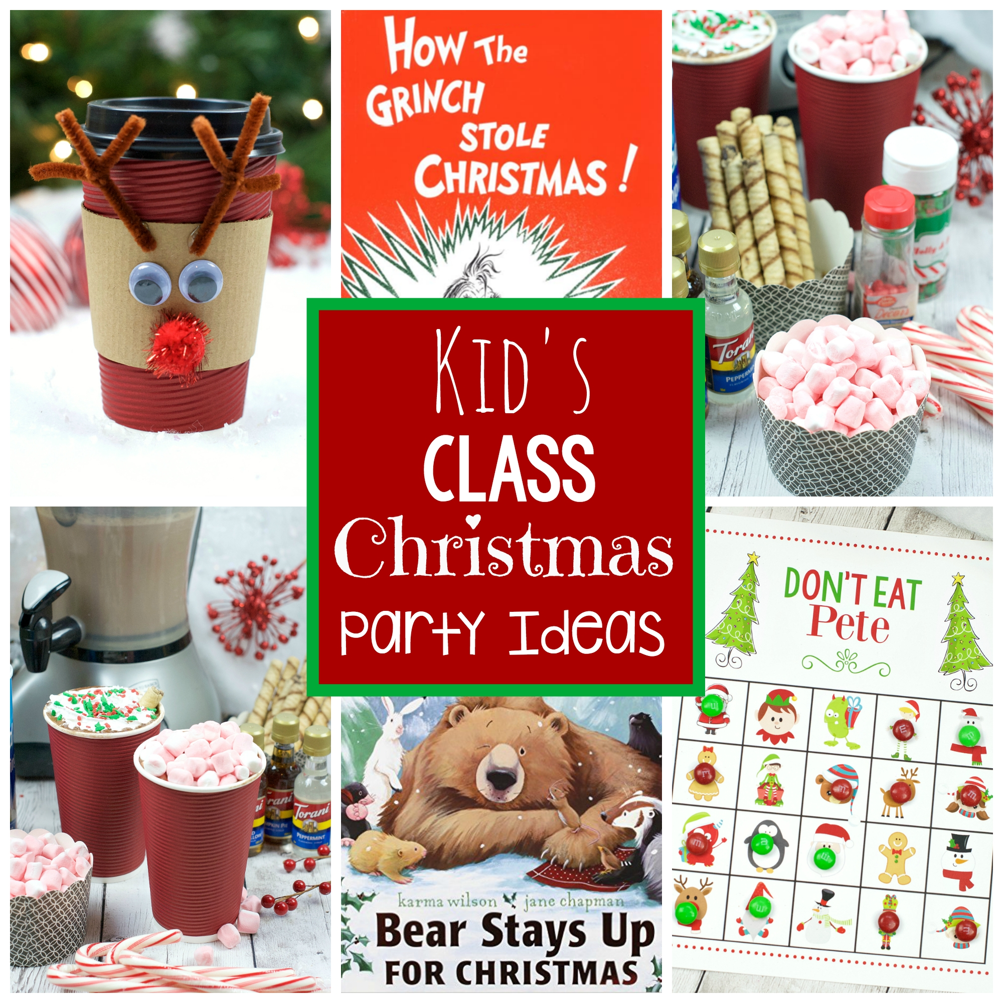 10 Fashionable Ideas For Kids Christmas Party kids school christmas party ideas fun squared 1