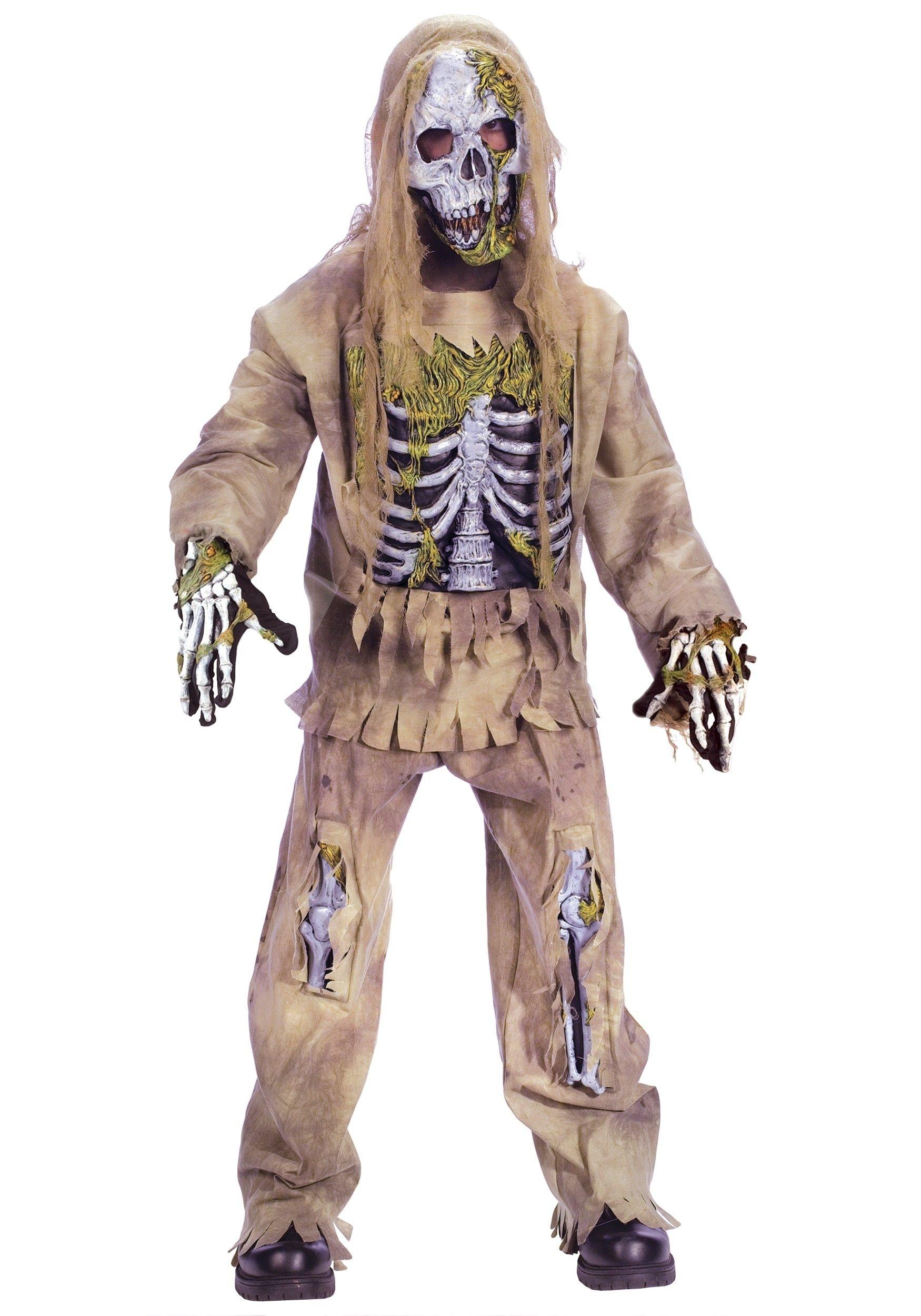 10 Attractive Zombie Costume Ideas For Kids kids skeleton zombie costume 2021