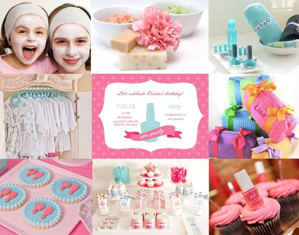 10 Gorgeous Spa Party Ideas For Girls kids spa party ideas tips from purpletrail 1 2021