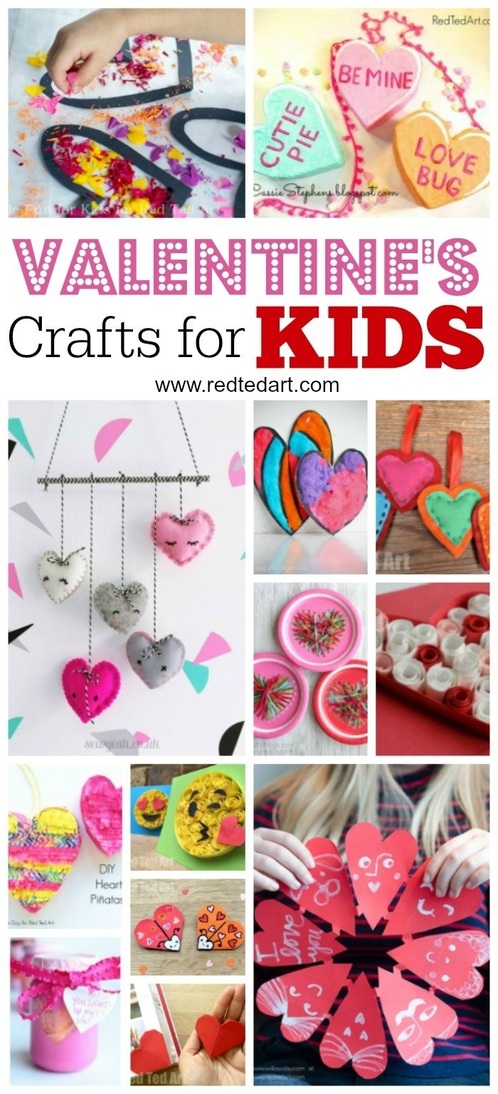 10 Ideal Valentine Gift Ideas For Kids kids valentines day ideas red ted arts blog 2020