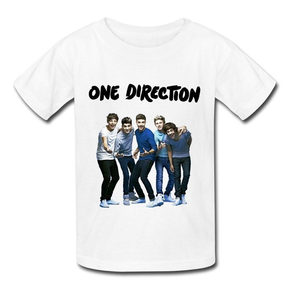 10 Fashionable One Direction T Shirt Ideas kids vintage one direction t shirtsmjensen medium custom tee 2021