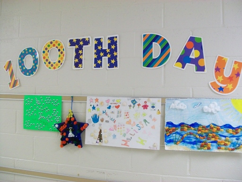 10 Cute 100Th Day Of School Poster Ideas kindergarten 100th day of school poster ideas new decoration art 1