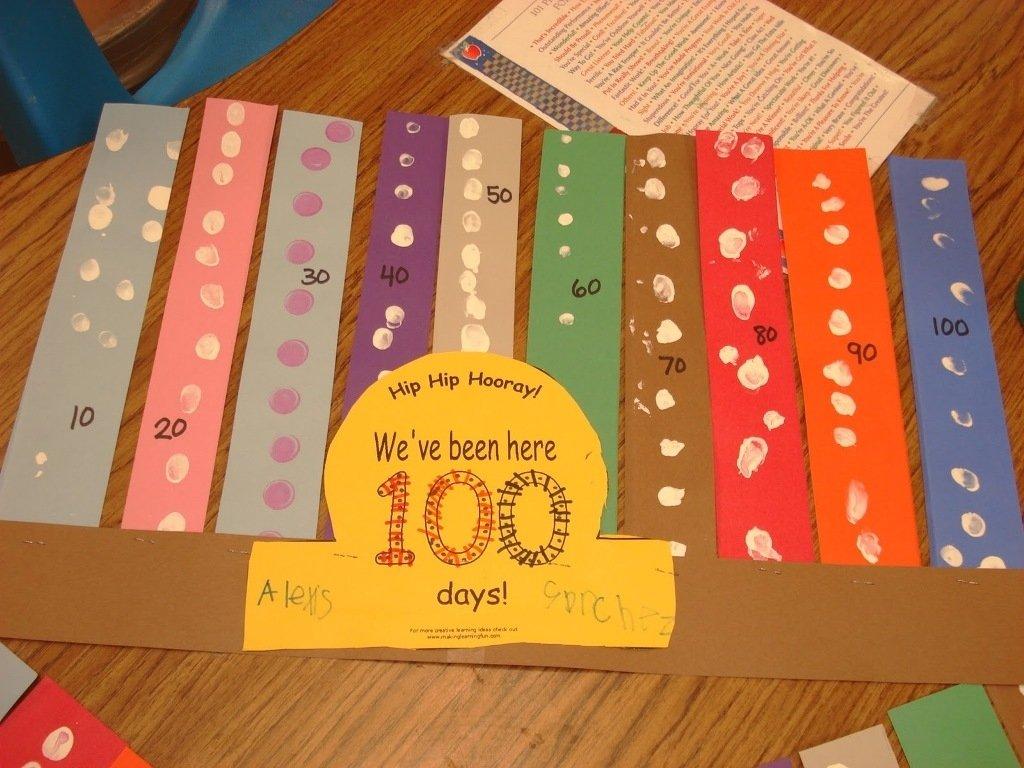 10 Wonderful 100 Day Of School Ideas For Kindergarten kindergarten 100th day of school poster ideas new decoration art 2020